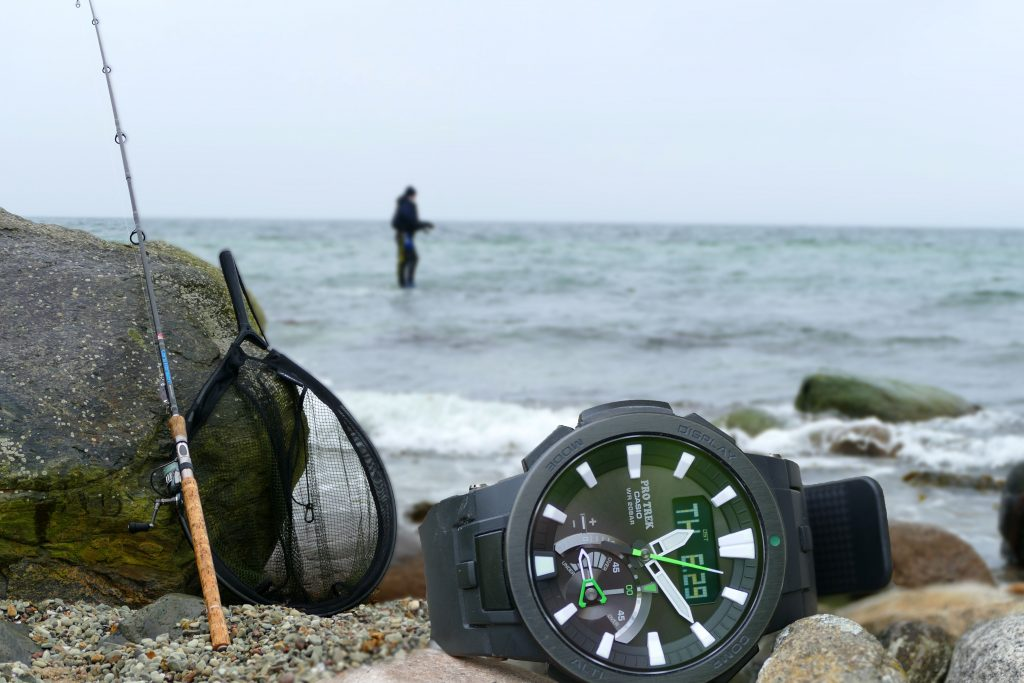 Fischalarm-1024x683 in Protrek PWR-7000: Pro Trek Fishing-Timer
