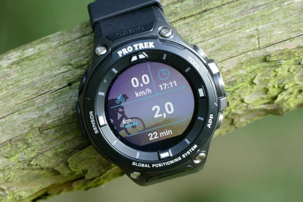 P1670324-1024x683 in Test: Casio PRO TREK WSD-F20 – multifunktionelle Smartwatch mit GPS nach US-Militärstandard