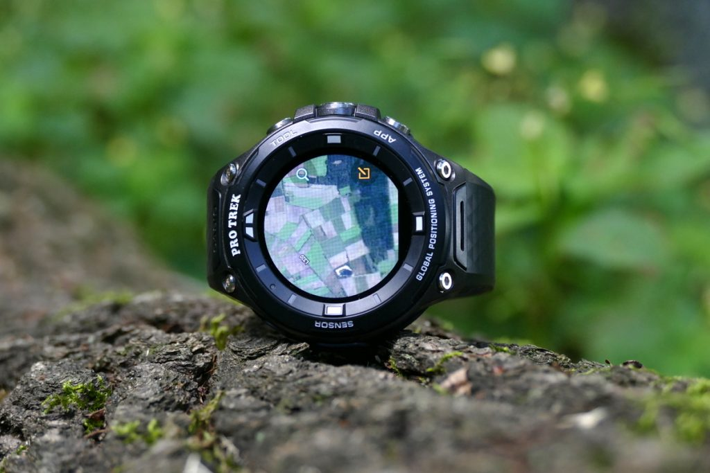 P1670413-1024x683 in Test: Casio PRO TREK WSD-F20 – multifunktionelle Smartwatch mit GPS nach US-Militärstandard